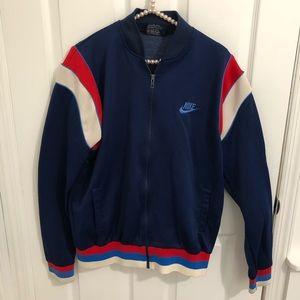 Vintage Nike track jacket. Unisex. Size large